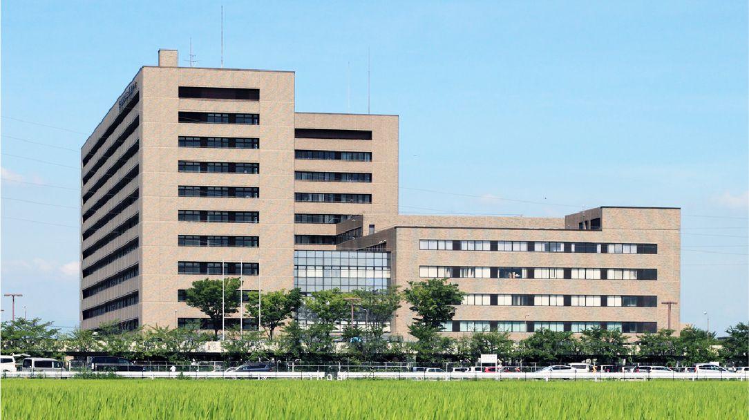 埼玉医科大学総合医療センターの外観